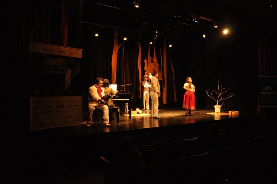 Ópera Studio - W. A. Mozart: Bastien e Bastienne
