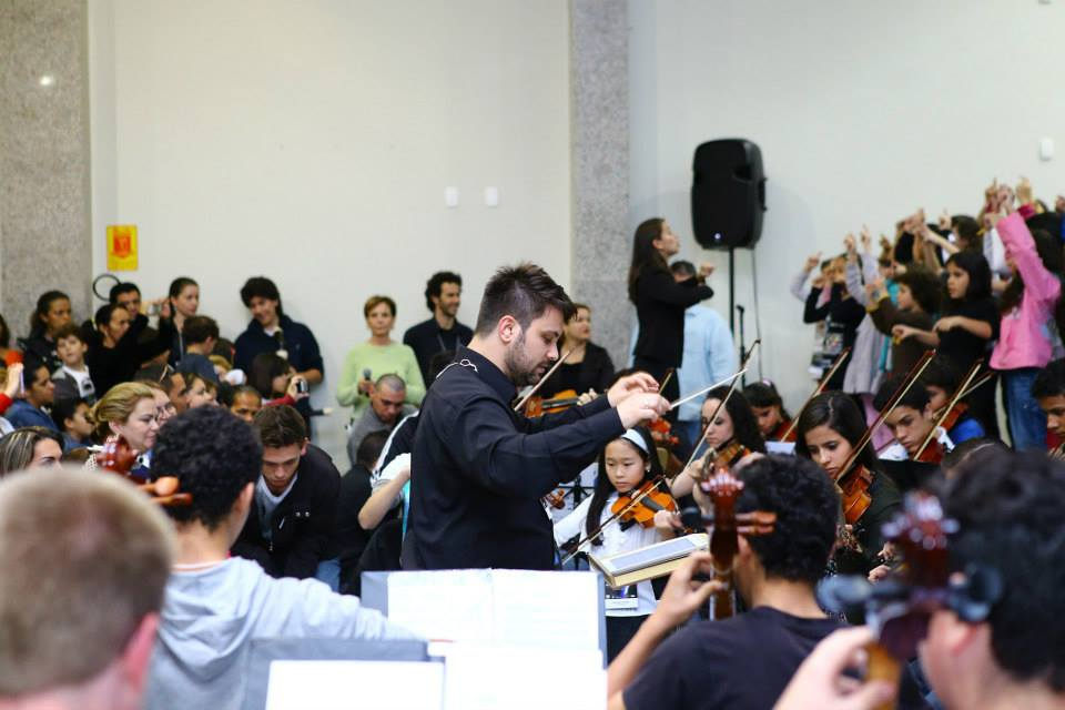 Orquestra Infanto Juvenil do 34º FML